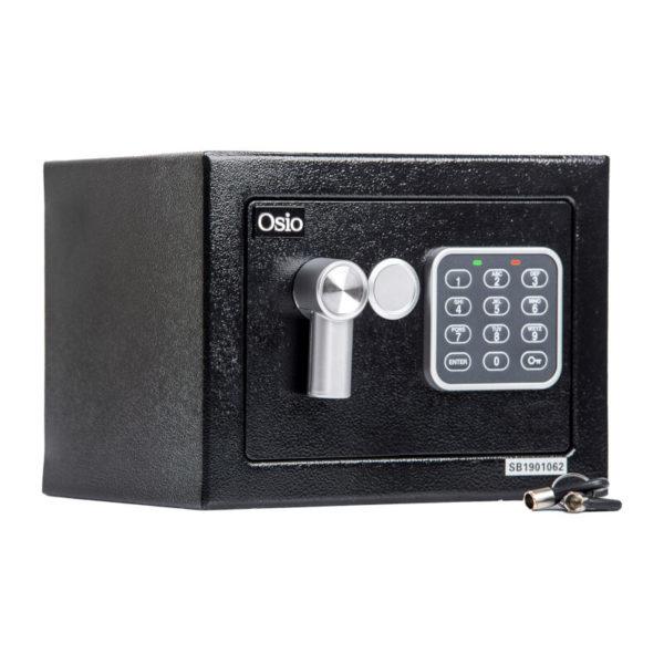 55100452-0001-Osio OSB-1723BL Χρηματοκιβώτιο με ηλεκτρονική κλειδαριά 23 x 17 x 17 cm