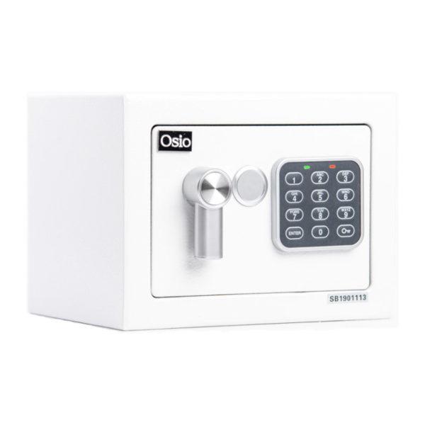 55100452-0002-Osio OSB-1723WH Χρηματοκιβώτιο με ηλεκτρονική κλειδαριά 23 x 17 x 17 cm