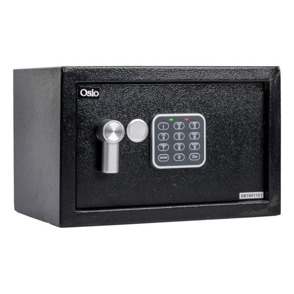55100452-0003-Osio OSB-2031BL Χρηματοκιβώτιο με ηλεκτρονική κλειδαριά 31 x 20 x 20 cm