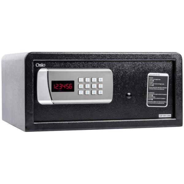 55100452-0007-Osio OSB-2043BL Χρηματοκιβώτιο με ηλεκτρονική κλειδαριά 43 x 38 x 20 cm