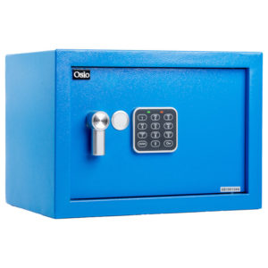 55100452-0006-Osio OSB-2535BU Χρηματοκιβώτιο με ηλεκτρονική κλειδαριά 35 x 25 x 25 cm