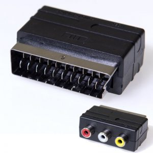 Osio OSK-1170 Αντάπτορας RCA θηλυκό σε SCART αρσενικό
