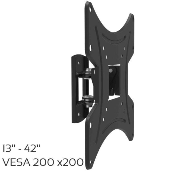 55100304-0002-Osio OSM-1042 Βάση τηλεόρασης 13″ – 42″ – VESA 200 x 200