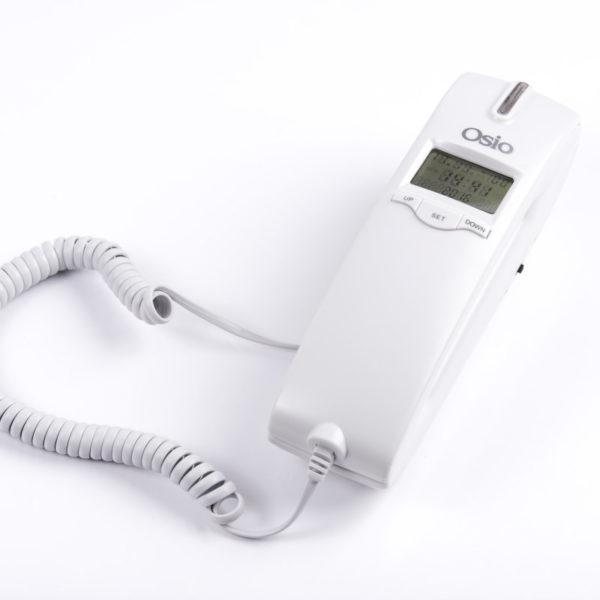55110087-0004-Osio OSW-4650W Λευκό Ενσύρματο τηλέφωνο γόνδολα με οθόνη