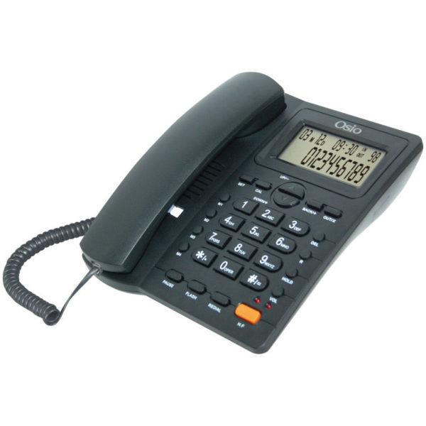 55110087-0013-Osio OSW-4710B Μαύρο Ενσύρματο τηλέφωνο με οθόνη