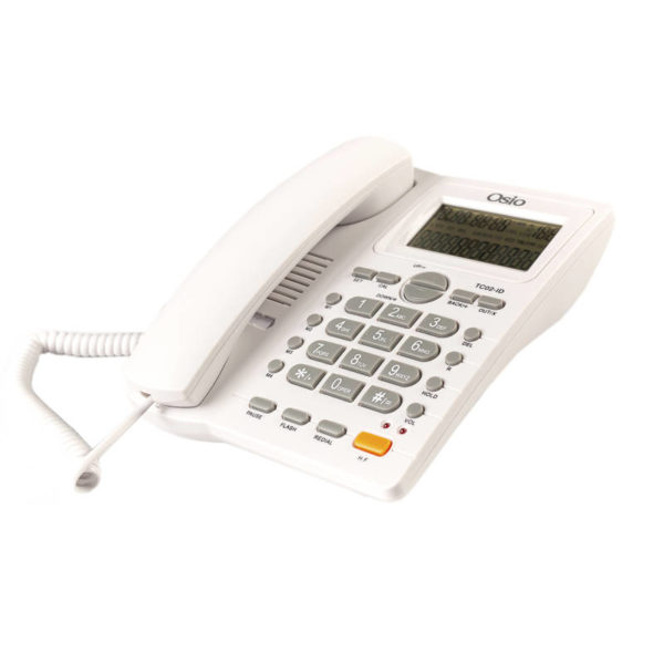 55110087-0014-Osio OSW-4710W Λευκό Ενσύρματο τηλέφωνο με οθόνη
