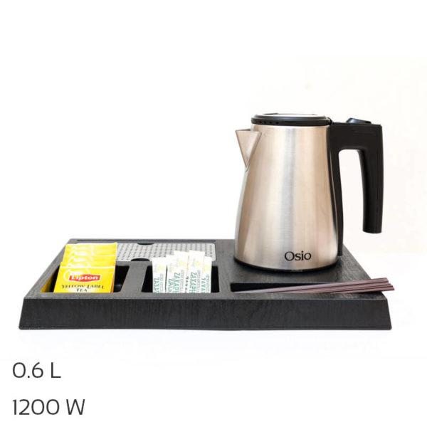 55100453-0001-Osio OTK-1140 Δίσκος καλωσορίσματος με βραστήρα Inox 0.6 L – 1200 W