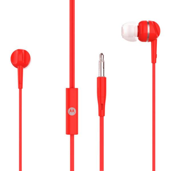 5514591-0019-Motorola PACE 105 Red In ear ακουστικά ψείρες Hands Free