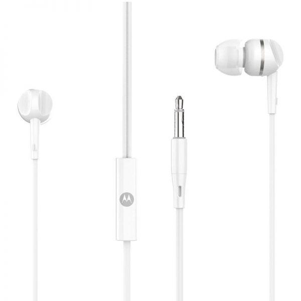 Motorola PACE 105 White In ear ακουστικά ψείρες Hands Free