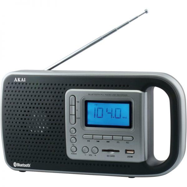 Akai PR005A-420B Φορητό ψηφιακό ραδιόφωνο με Bluetooth