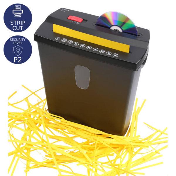 55110649-0031-Olympia PS 38 CD Καταστροφέας εγγράφων καιωCD / DVD / πιστωτικών καρτών Strip Cut P2