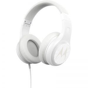 Motorola PULSE 120 Λευκό Over ear ακουστικά Hands Free