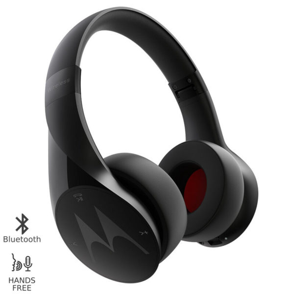 5514591-0001-Motorola PULSE ESCAPE Μαύρο Ασύρματα Bluetooth over ear ακουστικά Hands Free