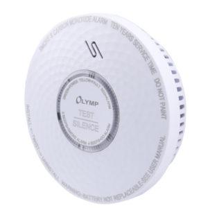 55110678-0004-Olympia RC 200 Αυτόνομος ανιχνευτής μονοξειδίου άνθρακα και καπνού με συναγερμό και LED