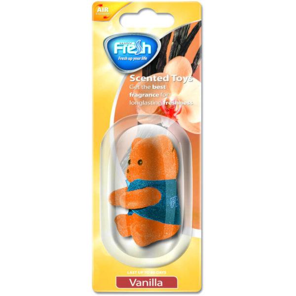 5515147-0017-Fresh SCT07 Αρωματικό αυτοκινήτου κουκλάκι Βανίλια