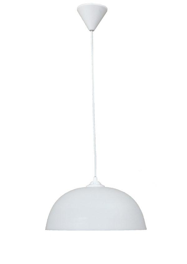 490-35-0011-Κρεμαστό φωτιστικό SFERA/30 1L WHITE PENDEL 35-0011
