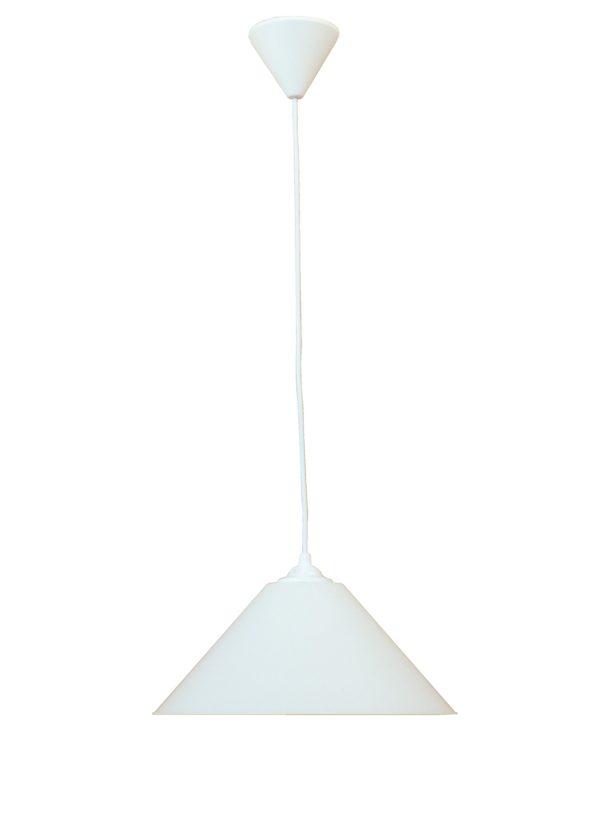 490-35-0009-Κρεμαστό φωτιστικό CONOS/30 1L WHITE PENDEL 35-0009