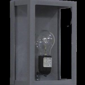 490-13-0110-Φωτιστικό επιτοίχιο SLP-60A GREY 13-0110