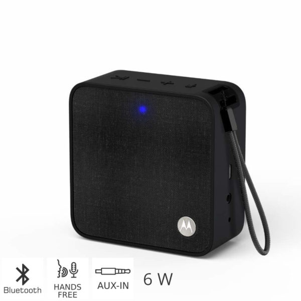 55145300-0002-Motorola SONIC BOOST 210 BLACK Φορητό ηχείο Bluetooth με Aux-In – 6 W