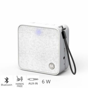 55145300-0003-Motorola SONIC BOOST 210 WHITE Φορητό ηχείο Bluetooth με Aux-In – 6 W