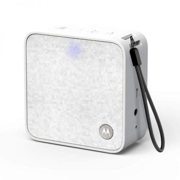 Motorola SONIC BOOST 210 WHITE Φορητό ηχείο Bluetooth με Aux-In – 6 W