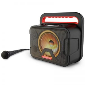 Motorola Sonic Maxx 810 Φορητό αδιάβροχο Bluetooth 5.0 karaoke party speaker με LED