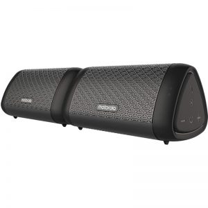 Motorola SONIC SUB 630 BASS TWIN Σετ 2 αδιάβροχα Smart φορητά ηχεία Bluetooth 5.0 με TWL και Aux-In – 2 x 10 W