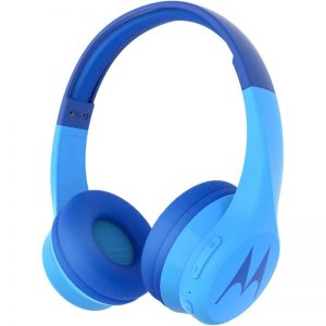 Motorola SQUADS 300 Blue Ενσύρματα / Ασύρματα Bluetooth on ear παιδικά ακουστικά Hands Free με splitter