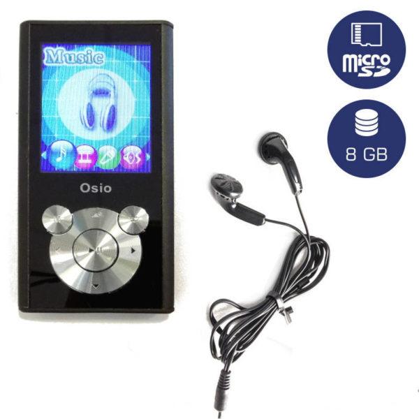 5519585-9080-Osio SRM-9080BS MP3 video player 8 GB