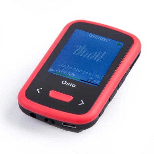 5519585-9281-Osio SRM-9280BR MP3 video player με κλιπ 8 GB