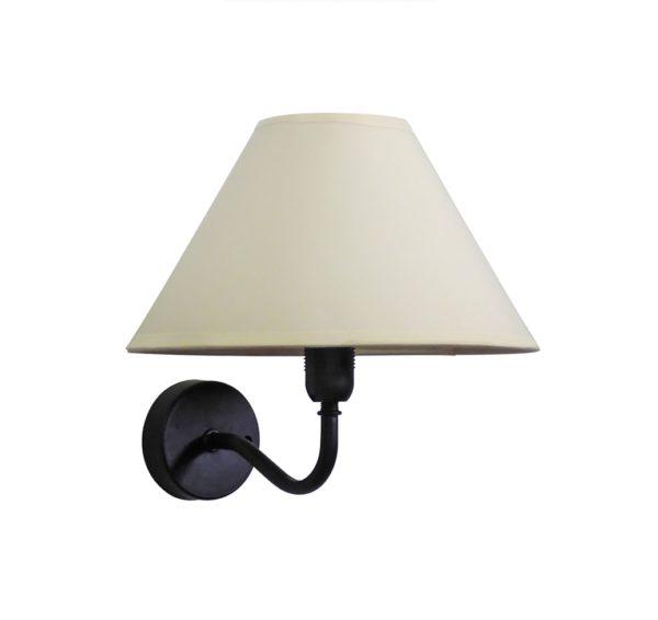 490-31-1041-Φωτιστικό τοίχου / απλίκα AS-25AP HAT BLACK 31-1041