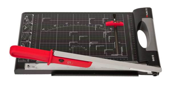 5514549-0049-Olympia VARIO DUPLEX 4000 Κοπτικό γκιλοτίνα και ευθείας κοπής 300 mm