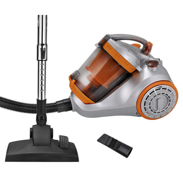 55196198-0008-Kalorik TKG VC 1010 Πορτοκαλί Ηλεκτρική σκούπα Cyclone με φίλτρο HEPA 4 L 1400 W