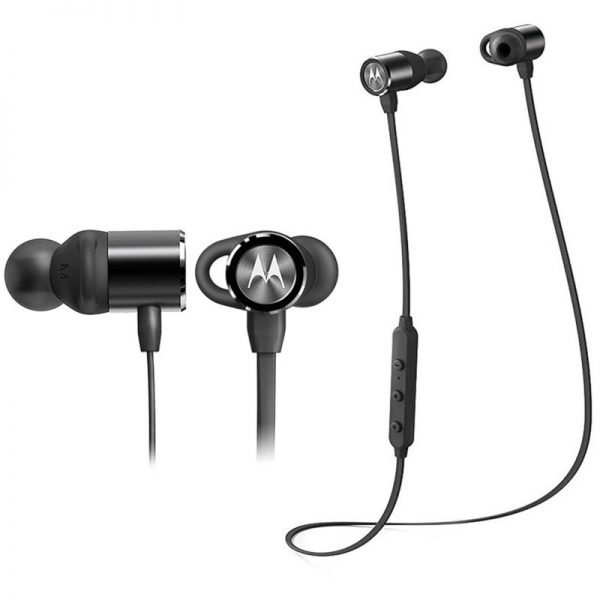 Motorola VERVE LOOP 200 Μαύρο Αδιάβροχα ασύρματα Bluetooth Handsfree ακουστικά με neck-band και ear-fin